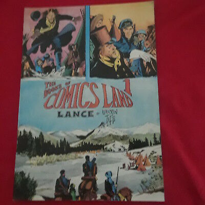 The Books Of Comics Land 1 - By Warren Tufts - Lance
