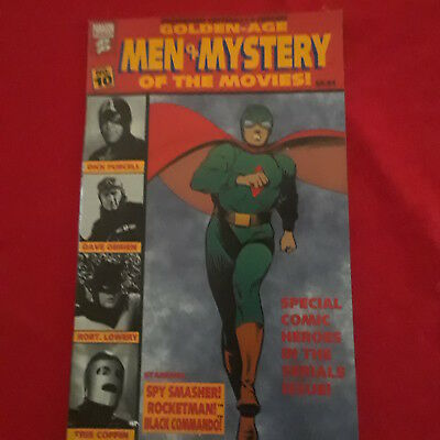 Paragon Comic - Golden Age Men Of Mystery Of The Movies