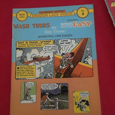 Dragon Lady Press Adventure Strips -4 Issues