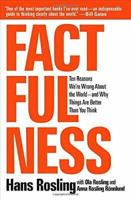 Factfulness: Ten Reasons We're Wrong About the World by Hans Rosling EBOOK/PDF
