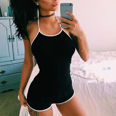 NEW Women Clubwear Playsuit Bodycon Party Jumpsuit&Romper Trousers Casual Shorts