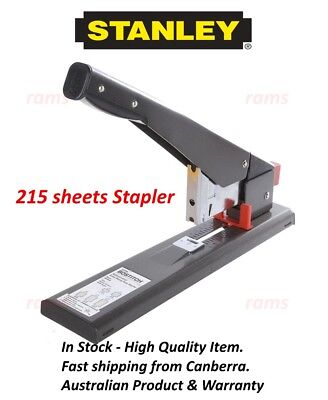 STANLEY Bostitch Extra Heavy Duty Stapler plier 215 Sheets Anit Jam office home