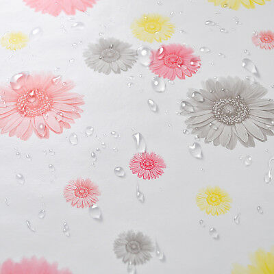 Fresh Daisy Self Adhesive Contact Paper Shelf Drawer Liner Anti-slip Wallpaper