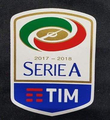 patch toppa serie a tim nuova originale 2017 2018 gomma gommina termosaldabile