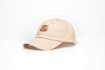 Cotton Bear Embroidered Curved Plain Dad Hat Adjustable Strapback Baseball  Cap ba162d8ffef3