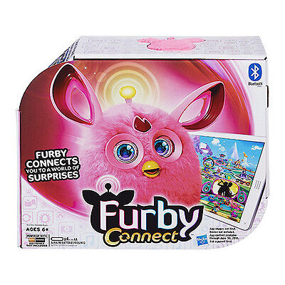 FURBY CONNECT PINK ELECTRONIC PET TOY Official HASBRO Bluetooth Brand New!