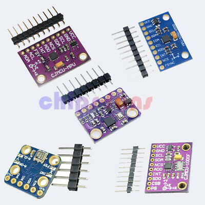 MPU9250 BMP180 BMP280 MS5611 10 DOF 9Axis SPI/I2C Magnetometer Gyro Accelerator