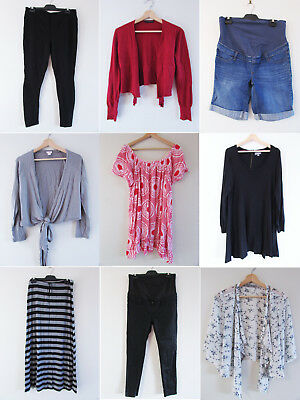 Bulk Maternity Clothing Sz 12/M Jeanswest Szabo Ashley Fogel Target Boob Sussan