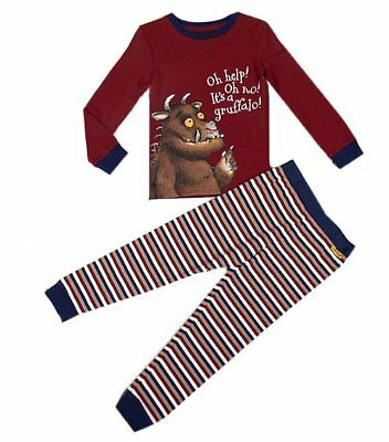 New Boys ex M&S Gruffalo Pyjamas PJ's Nightwear Age 1.5-7 Years RRP £15