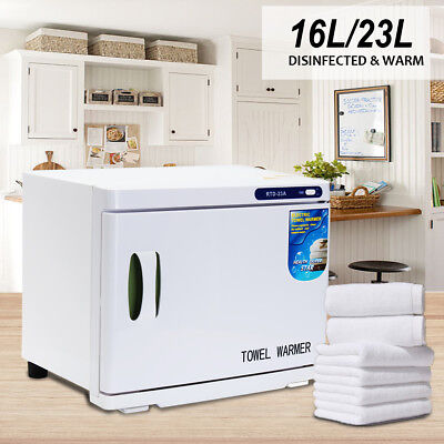 MECO 23L/16L UV Towel Sterilizer Warmer Cabinet Disinfection Heater Hotel Salon
