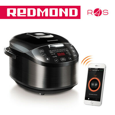 Multi-Cooker Redmond RMC-M800S-E Slow Cooker Bluetooth Wi-fi Mobile App Remote