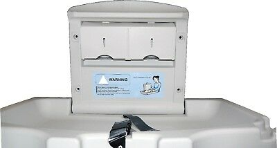 Wall Mounted Baby Changing Table Unit Changer Nappy Station Toilet Commercial