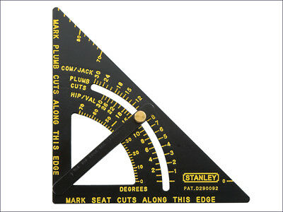 """Stanley STA46053 Adjustable Quick Roofing Square 170mm 6.3/4""""  46-053"""