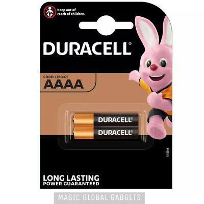 Genuine Duracell Aaaa 1.5V Battery For Digital Pens Headlamps Jabra Bluetooth