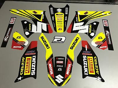 SUZUKI RMZ 250 2004 2005 2006 Super durable MX Graphics Decals Stickers