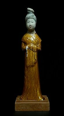 Ancient Chinese Glazed Court Lady - China - Tang Dynasty