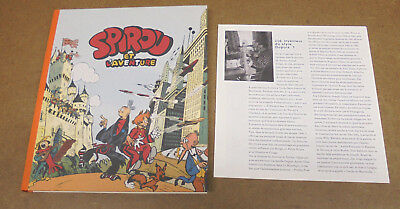 Jije - Spirou Et L'aventure - Fac-Simile 2010 + Supplement - Tl  5500Ex ( Ttbe )