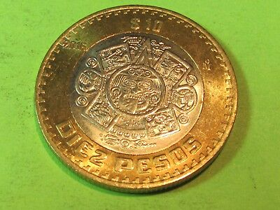 Bi-Metal  2016 Mexican .....combine shipping 1 to 10 coins for $2.60