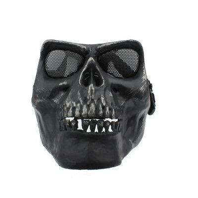 Gotcha Maske / Paintball / Evil Face / Skull Mask für Airsoft Gotcha in schwarz