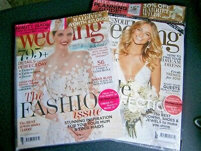 You & Your Wedding Magazines Feb/Mar & March/April Issues 2018 (new)