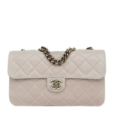 31e9cbe2115f Chanel Perfect Edge Bag Pink Quilted Glazed Calfskin, Very Good Condition!