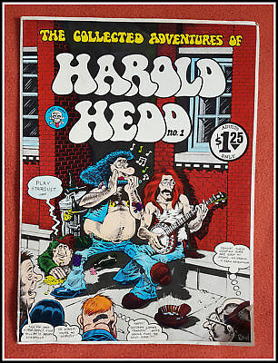 Collected Adventures of HAROLD HEDD No. 1 1973 Rand Holmes/Last Gasp Eco-Funnies