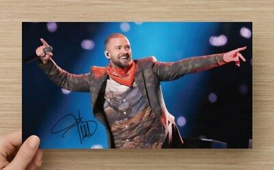 Justin Timberlake  Reprint Autographed Signed Picture Photo Collectible Nsync