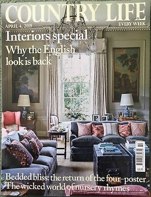 Country Life Magazine - 4th April 2018 (Interiors Special, The English Look)