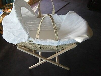 Moses Basket complete with Stand