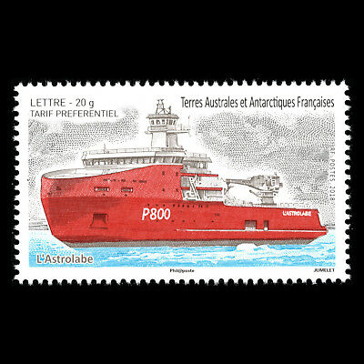 TAAF 2018 - Ships - L'Astrolabe - MNH