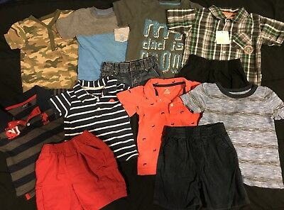 Baby Boy 24 Months 2T Summer Clothes Outfits Romper Lot *FREE SHIPPING*