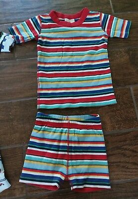 Hanna Andersson Pajama for Boys Size 100 Striped VGUC