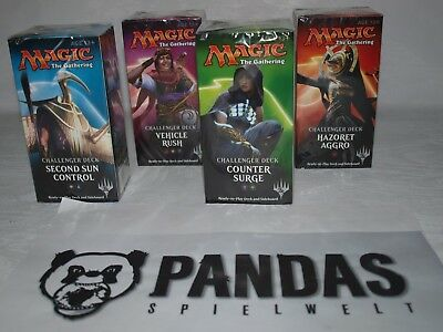 MtG Challenger Decks OVP Sealed Counter Surge, Hazoret, Second Sun, Vehicle Rush