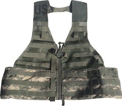 Tactical Army Vest Official US Military MOLLE II ACU FLC Fighting Load Carrier