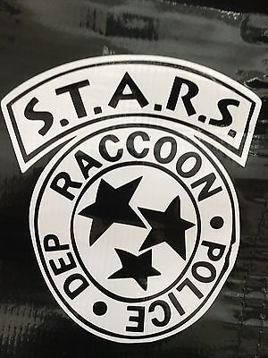 STARS Raccoon City Police Dept Resident Evil Vinyl Decal Sticker 5""