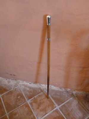 Buckle decorated  walking cane