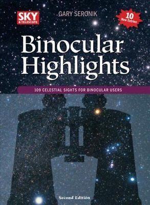 BARGAIN ASTRONOMY BOOK - BINOCULAR HIGHLIGHTS - 2nd REVISED AND EXPANDED EDITION