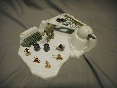 STAR WARS Micro Machines WALL PANEL Part Ice Planet Hoth Playset Galoob 1994 #3