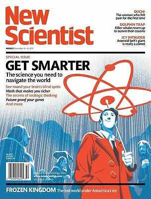 NEW SCIENTIST MAGAZINE 12th DEC 2015 ~ SPECIAL OFFER BUY ANY 6 ISSUES FOR £10.00