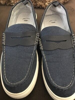 Mens Gap Navy Size 8 Loafers