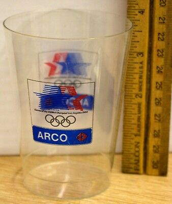 1984 - ARCO - Los Angeles Olympic Games - Plastic Cup - RARE!!!