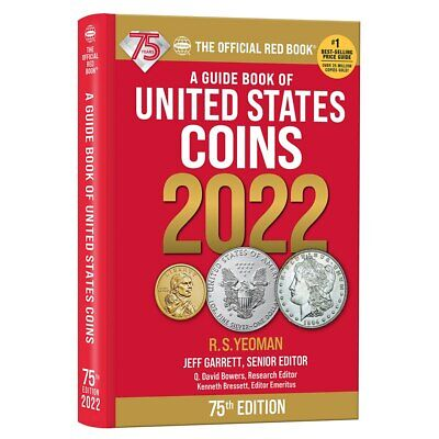 Official Red Book Guide Book of United States Coins 74th Ed. 2021 Hidden Spiral