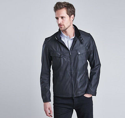 RRP 195£ BARBOUR INTERNATIONAL REBEL WAX Men's JACKET COAT