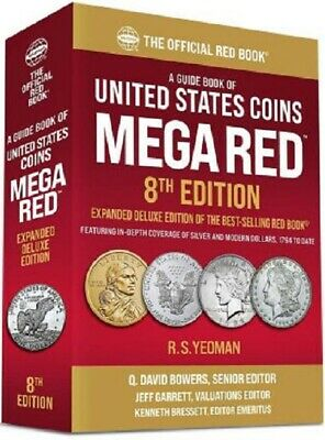 Official RedBook Guide United States US Coins 2019 Mega Red Book 4th Edition
