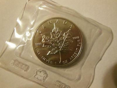 1989 Canada Silver Maple $5 .9999 Silver Rcm Sealed!
