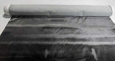 "Black Graphite Flocked Velvet Upholstery Sueded Fabric 56"" Wide Soft Plush"