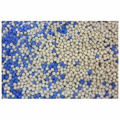 Molecular Sieve 4A, 4mm, Desiccant 2lbs, Includes Blue Moisture Indicating Beads
