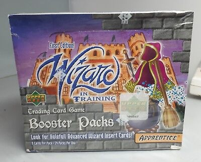 Sealed 1St Ed-Wizards In Training Trading Card Game Booster Box -24 Pks