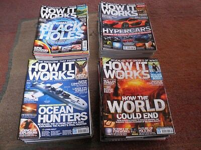 How It Works Magazines x 63 issues, very good condition