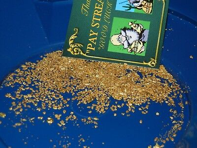 GOLD PAYDIRT UNSEARCHED CONCENTRATES 2+lbs CHUNKY PLACER NUGGETS PICKERS FLAKES